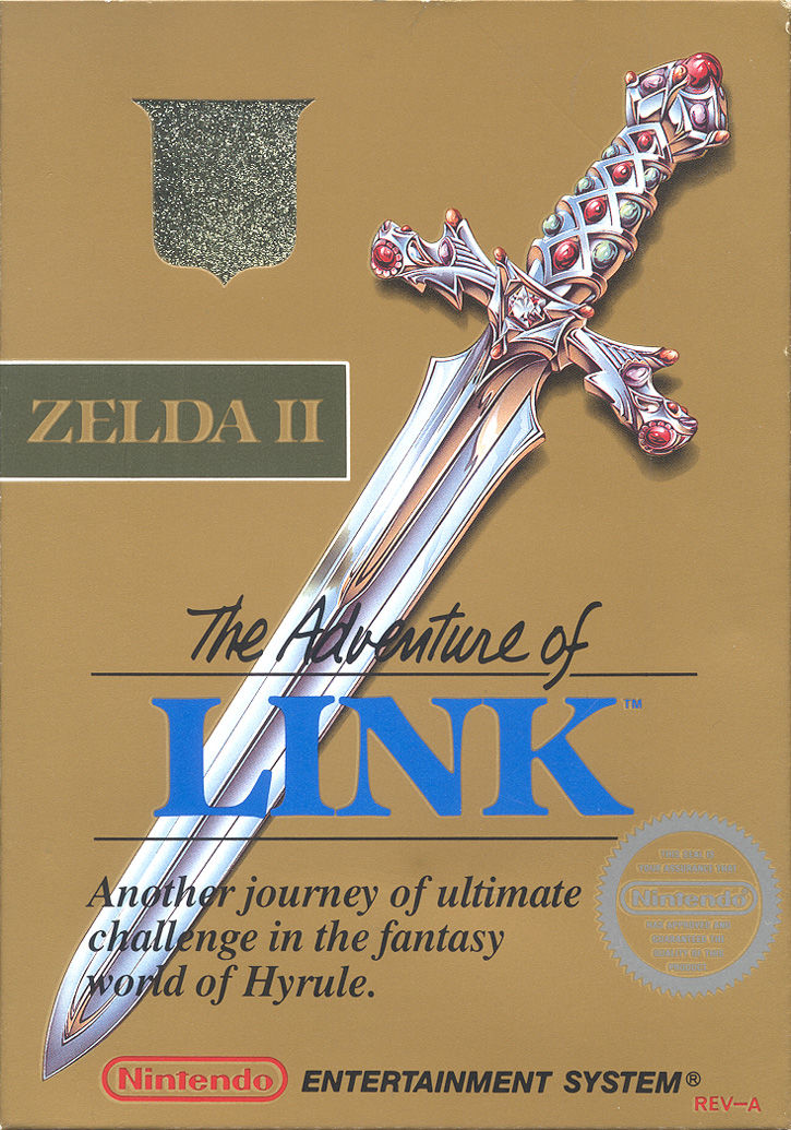 The Adventure of Link (NES)  JP 1987 / FR 1988