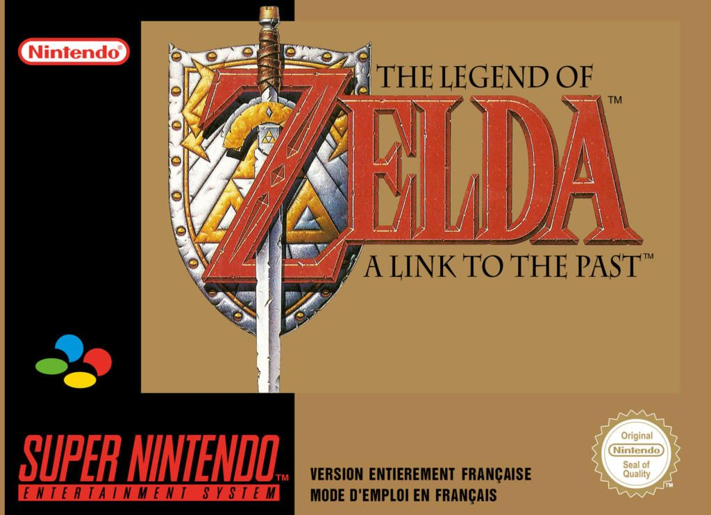 A link to The Past (SNES) JP 1991/ FR 1992