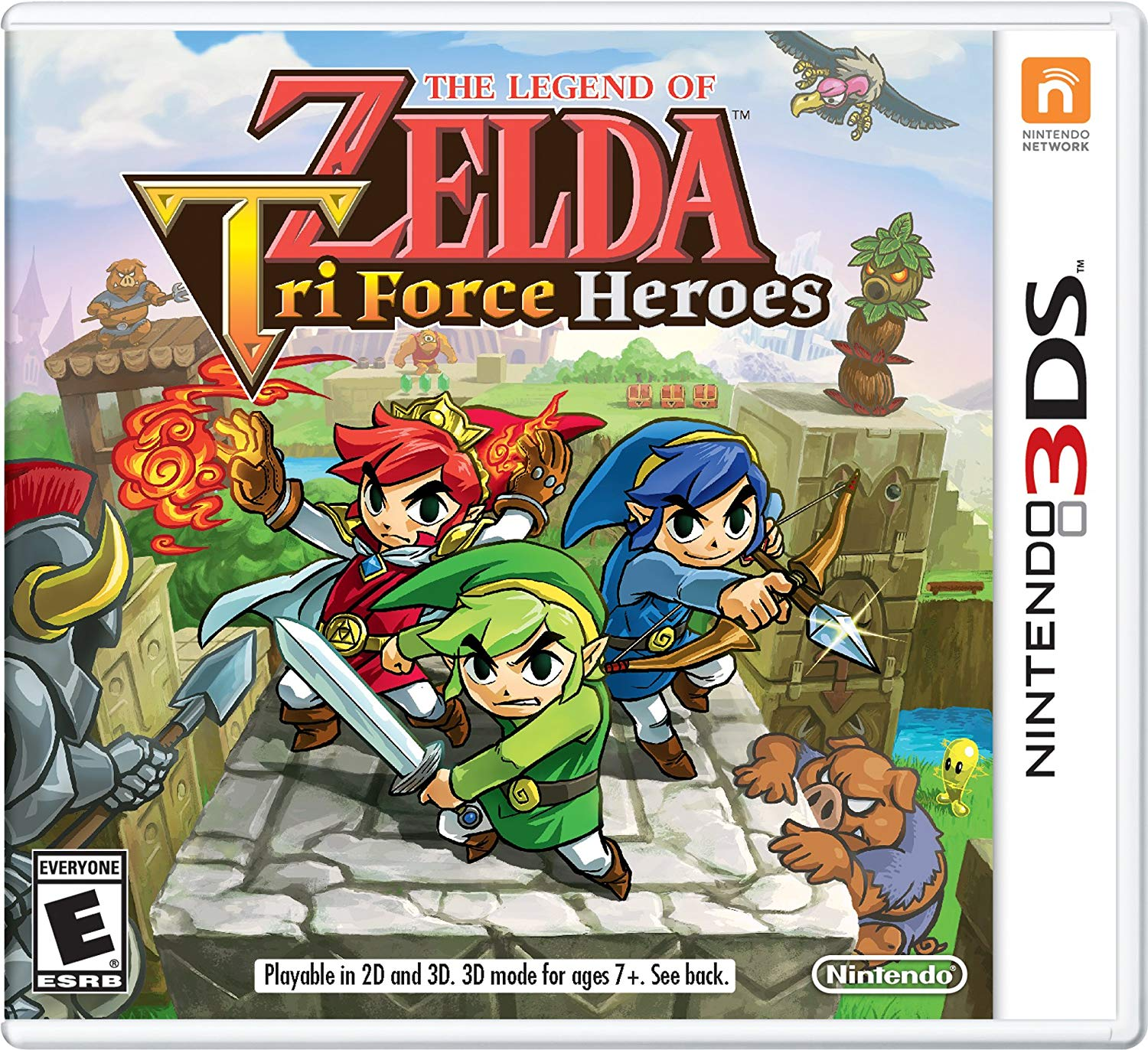 Triforce Heroes (3DS) 2015